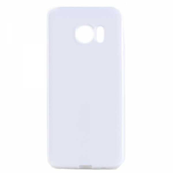 Samsung Galaxy S7 Edge Hülle - TPU Cover - FeatherLine - weiss- yourmobile.ch 2