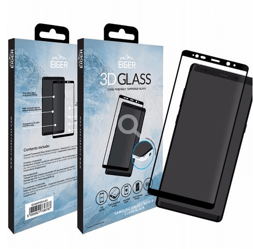 Samsung Galaxy Note 8 - 3D Glass - Case Friendly - Härtegrad 9H