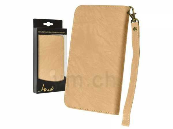 Universal Handy Case - Anco - BookCase 3XL - gold - yourmobile.ch