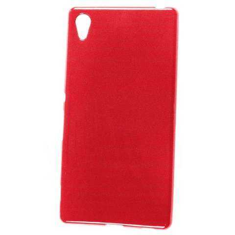 Sony Xperia Z3+ Hülle - Super Slim Crystal Case - rot - yourmobile.ch - 25174