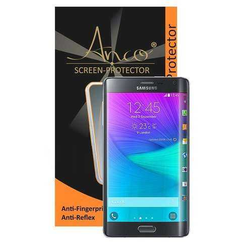 Anco - Displayschutzfolie - Anti-Fingerprint - Samsung Galaxy Note Edge Folie - yourmobile.ch - 23790